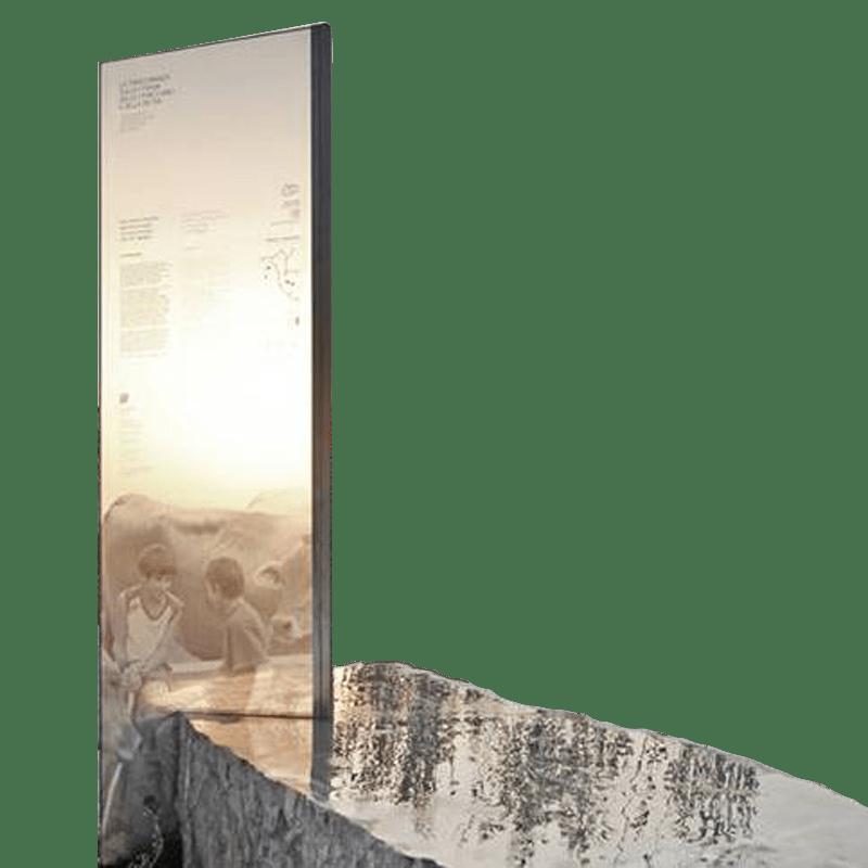 targhe e pannelli per allestimenti museali, scenografie, segnaletica in plexiglass, a Bergamo vicino a Milano e Brescia