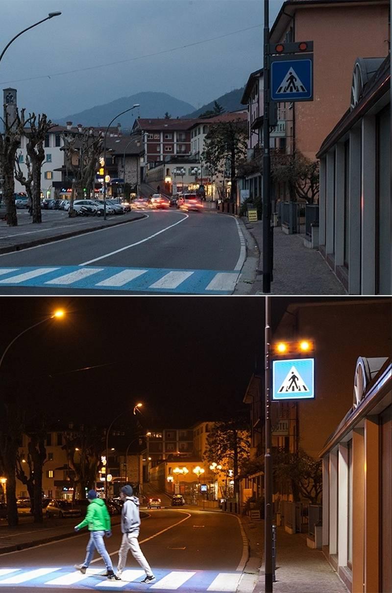 Produzione di pannelli luminosi B2B, per retroilluminazione con di segnaletica stradale.